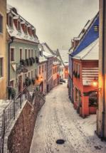 hohlweg-meißen-schnee