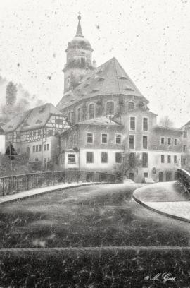 königstein-stadt-schneefall-kirche