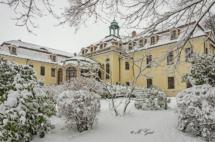 Schloss Proschwitz im Winter