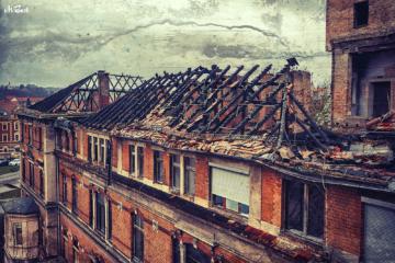 dachstuhl altes krankenhaus cölln