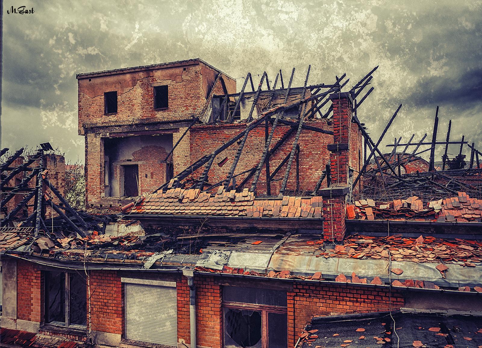 dachstuhl altes krankenhaus meißen