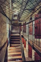 treppenaufgang altes gefängnis meißen