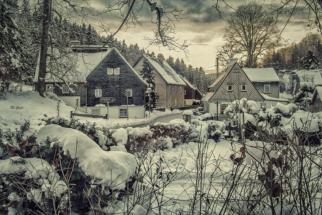 winter in seiffen