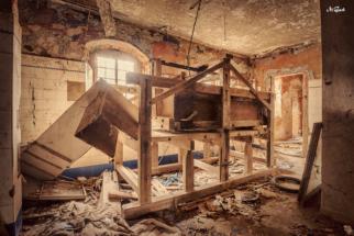 alte machine bauernhof
