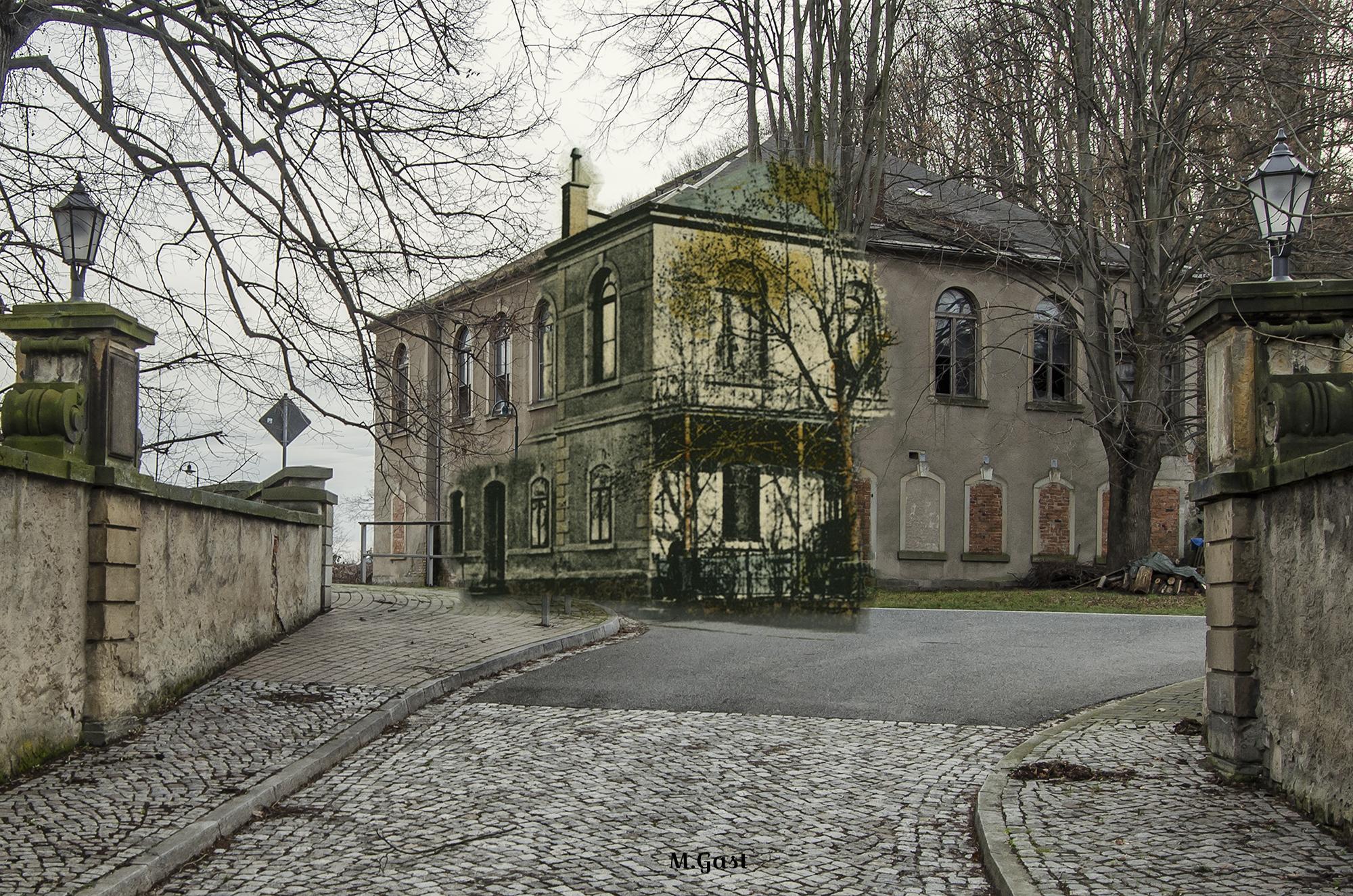 Gasthof Gauernitz - Damals und Heute
