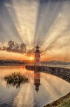 leuchtturm moritzburg sommer